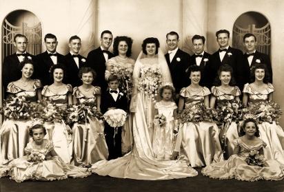 Wedding of my parents.